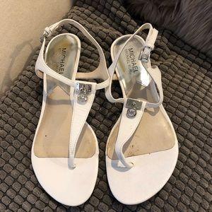 """Michael Kors """"Ramona"""" low wedge sandals"""
